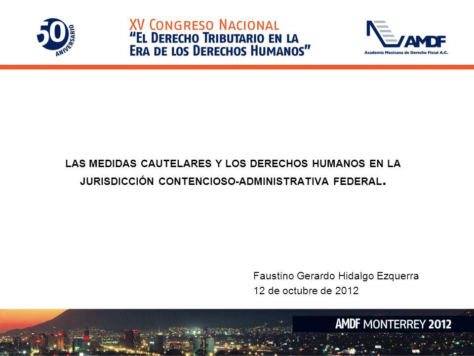 Faustino Gerardo Hidalgo Ezquerra 12 de octubre de 2012