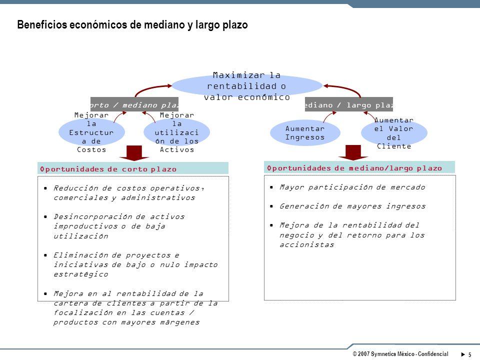 Beneficios económicos de mediano y largo plazo