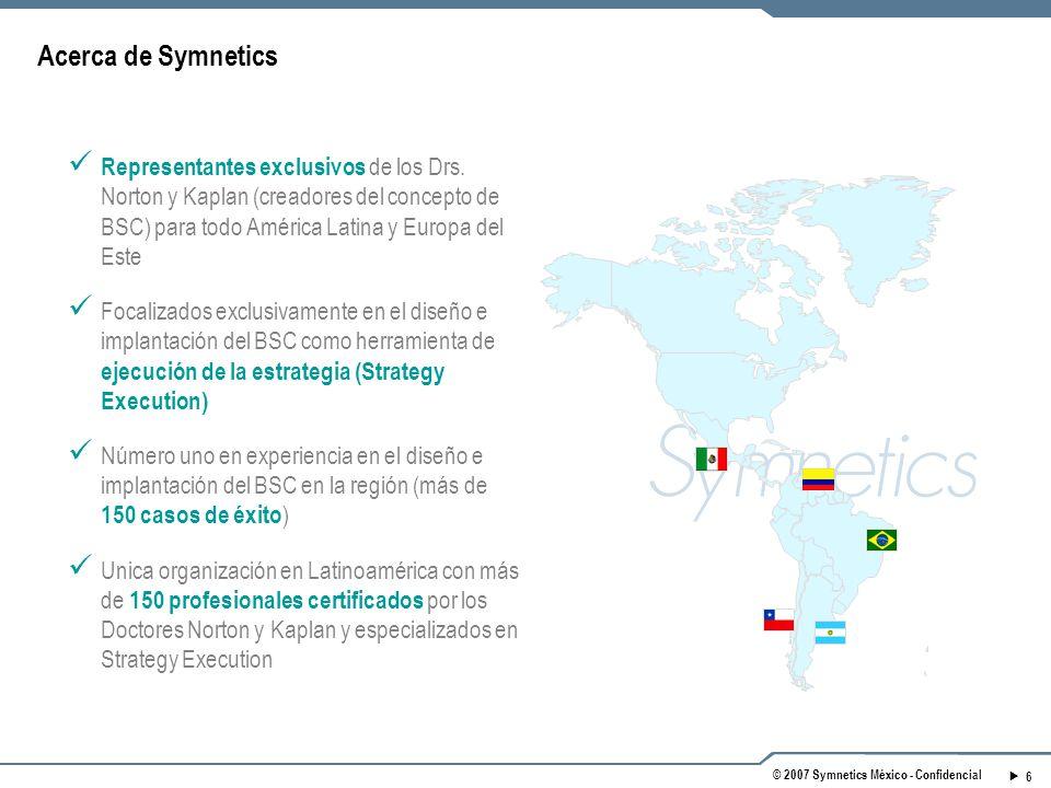 © 2007 Symnetics México - Confidencial