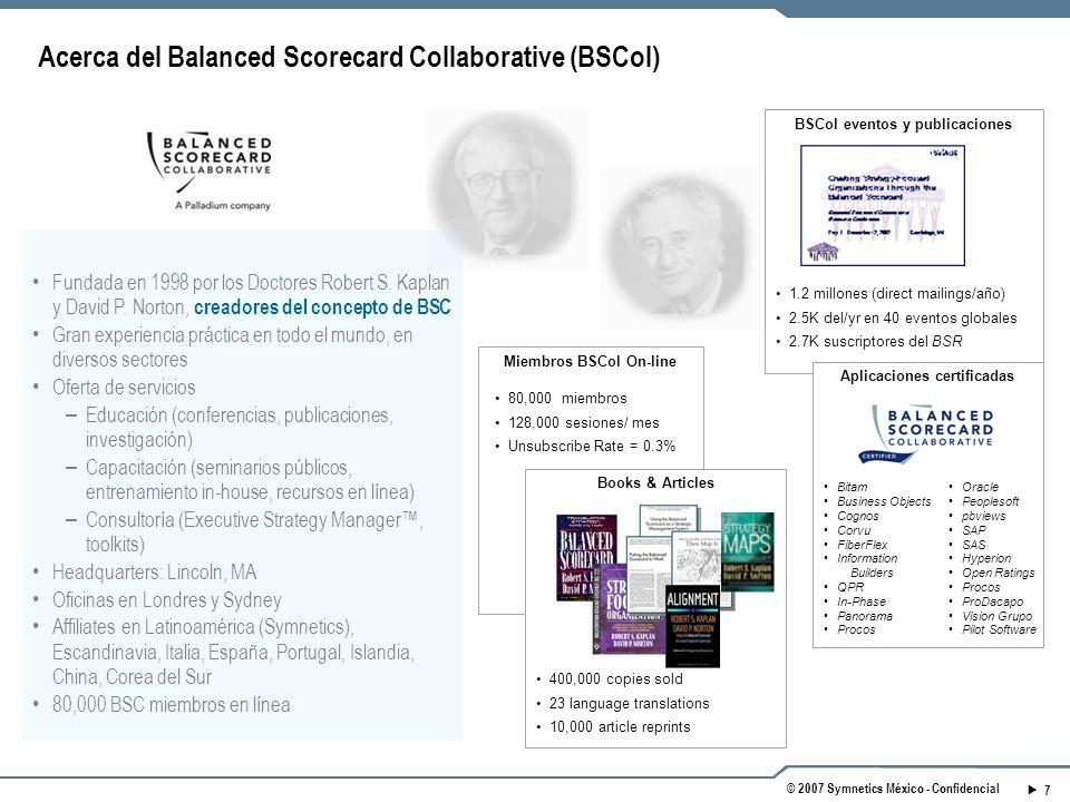 Acerca del Balanced Scorecard Collaborative (BSCol)