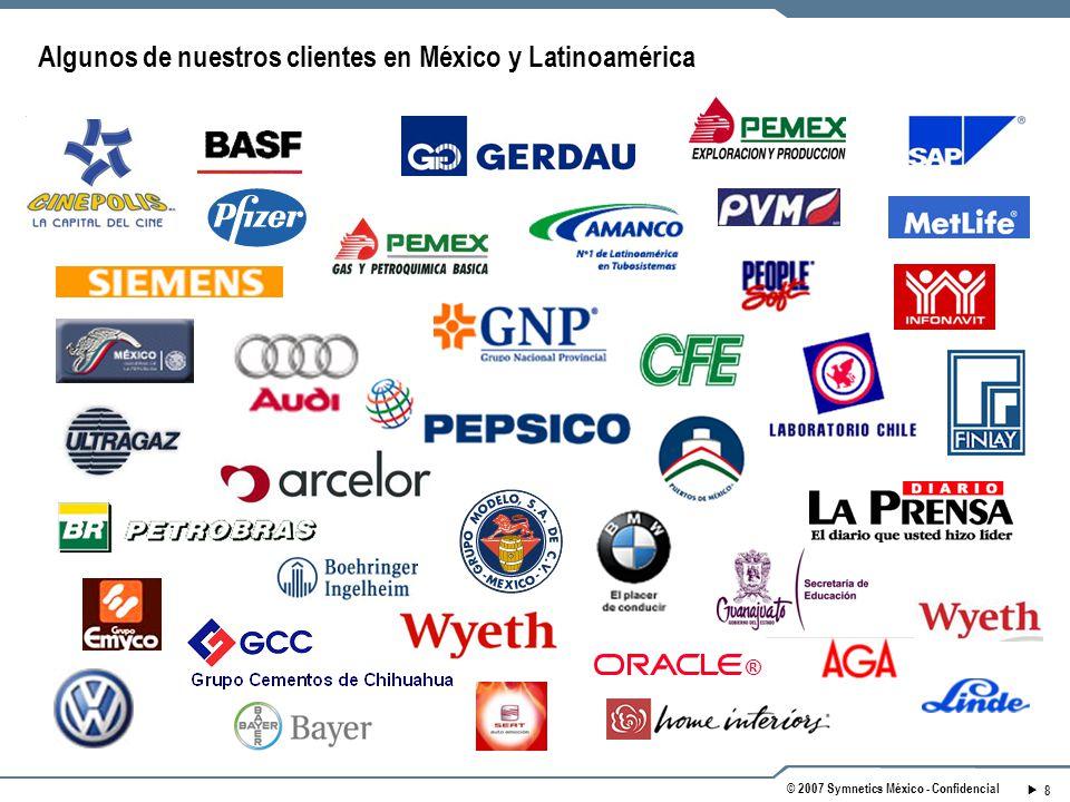 Algunos de nuestros clientes en México y Latinoamérica