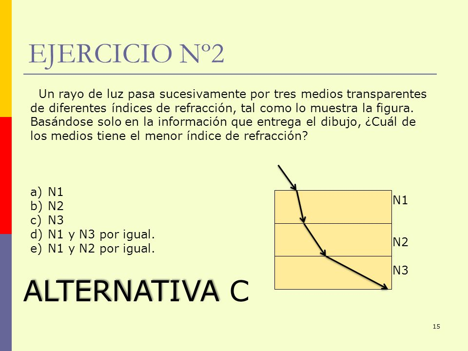 EJERCICIO Nº2 ALTERNATIVA C
