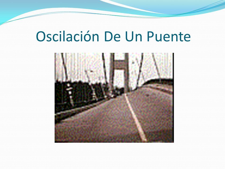 Oscilación De Un Puente