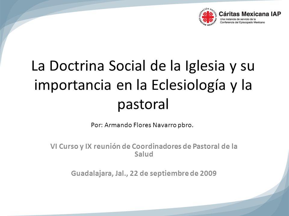 VI Curso y IX reunión de Coordinadores de Pastoral de la Salud