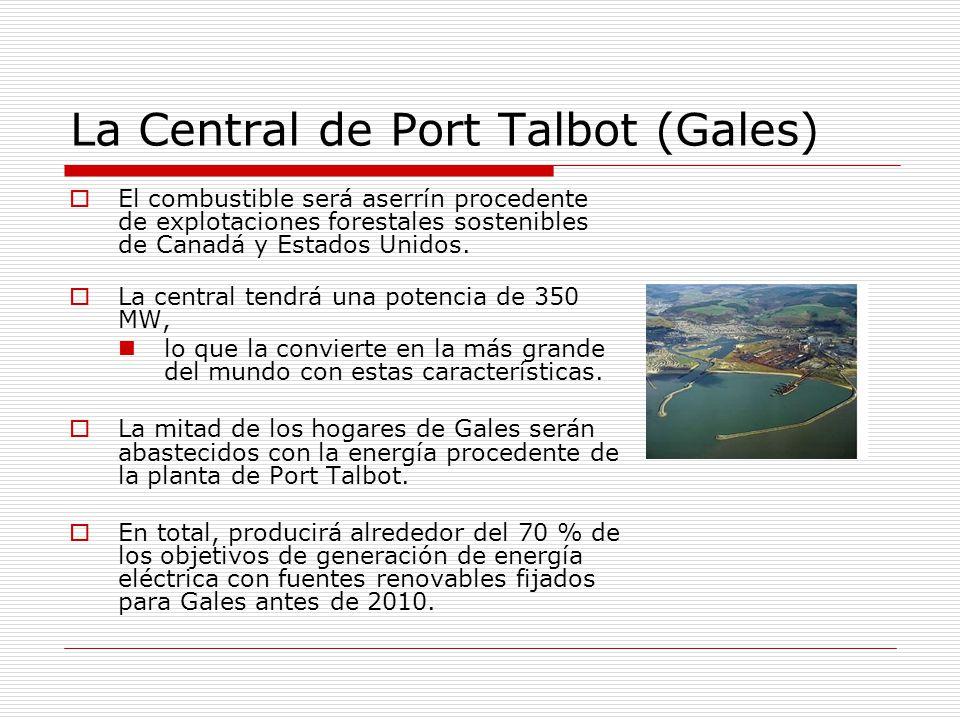 La Central de Port Talbot (Gales)