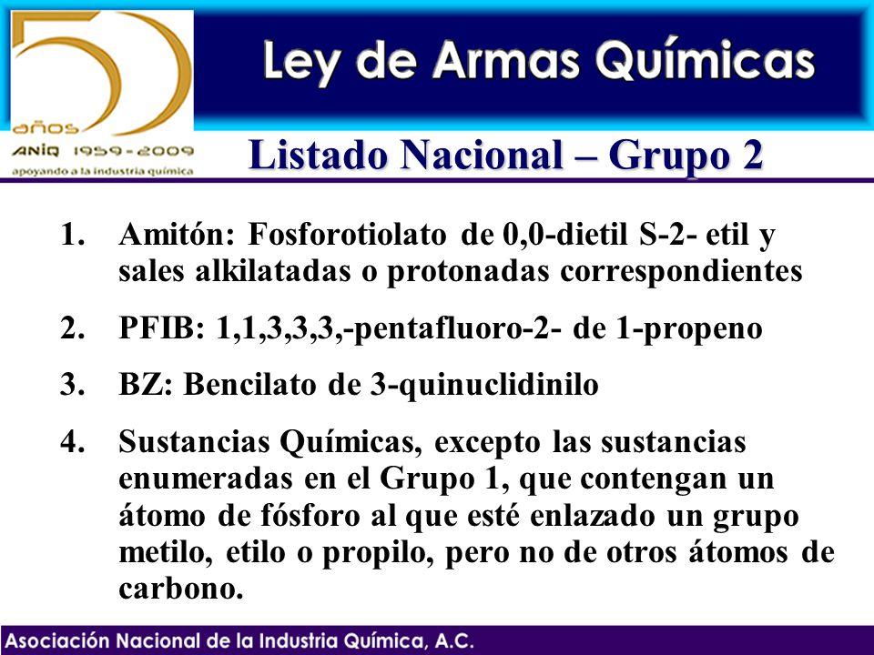 Listado Nacional – Grupo 2