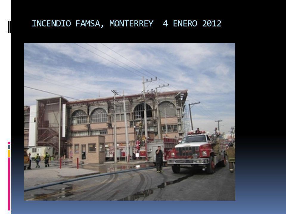 INCENDIO FAMSA, MONTERREY 4 ENERO 2012