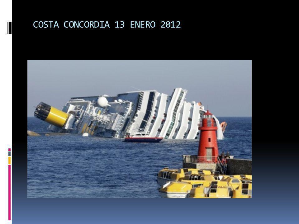 COSTA CONCORDIA 13 ENERO 2012