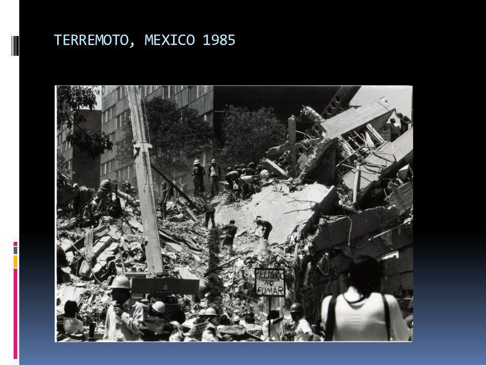 TERREMOTO, MEXICO 1985