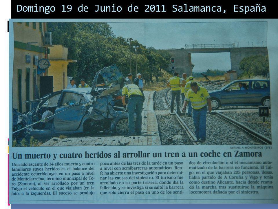 Domingo 19 de Junio de 2011 Salamanca, España