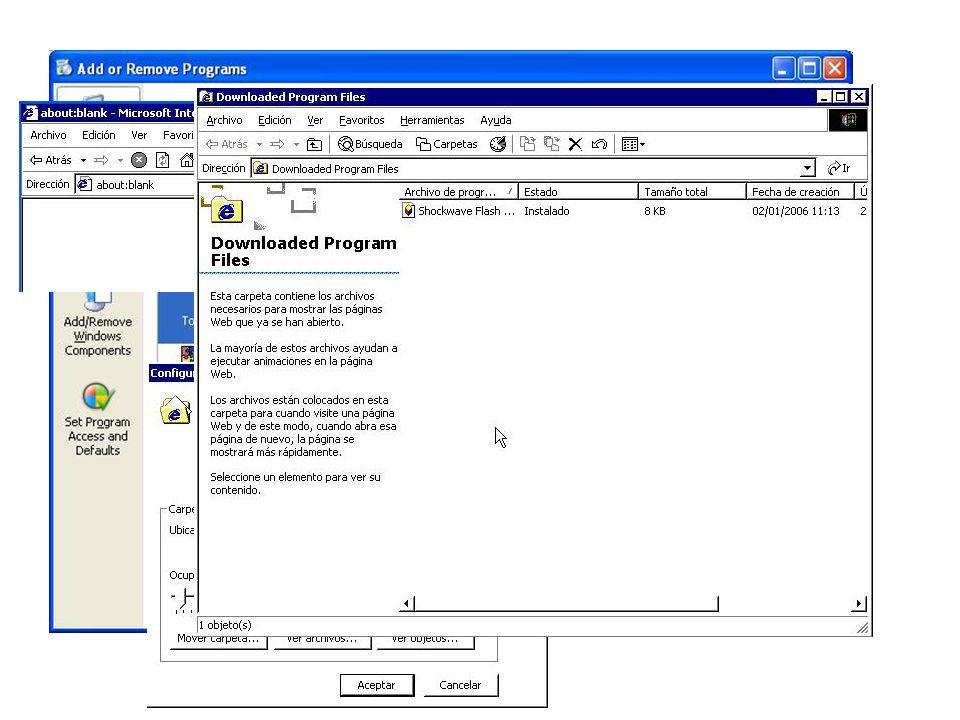 La mayoría de los programas tienen un procedimiento de desinstalación el cual se encuentra en la opción Agregar o quitar programas dentro del Panel de Control. Basta con señalar el nombre del programa en cuestión y elegir la opción Quitar para borrar los archivos permanentemente de la computadora.