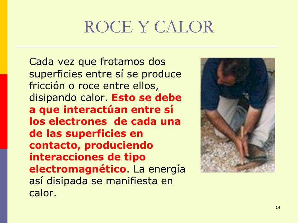 ROCE Y CALOR