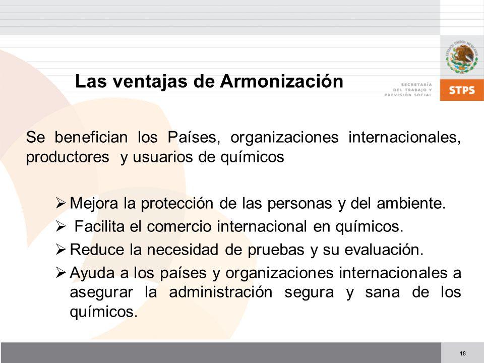 Las ventajas de Armonización