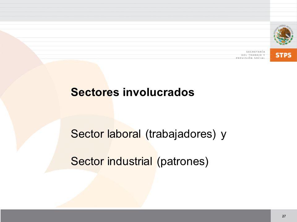 Sectores involucrados
