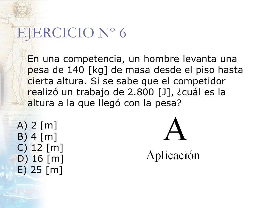 EJERCICIO Nº 6