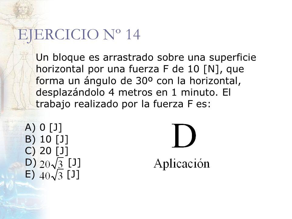 EJERCICIO Nº 14