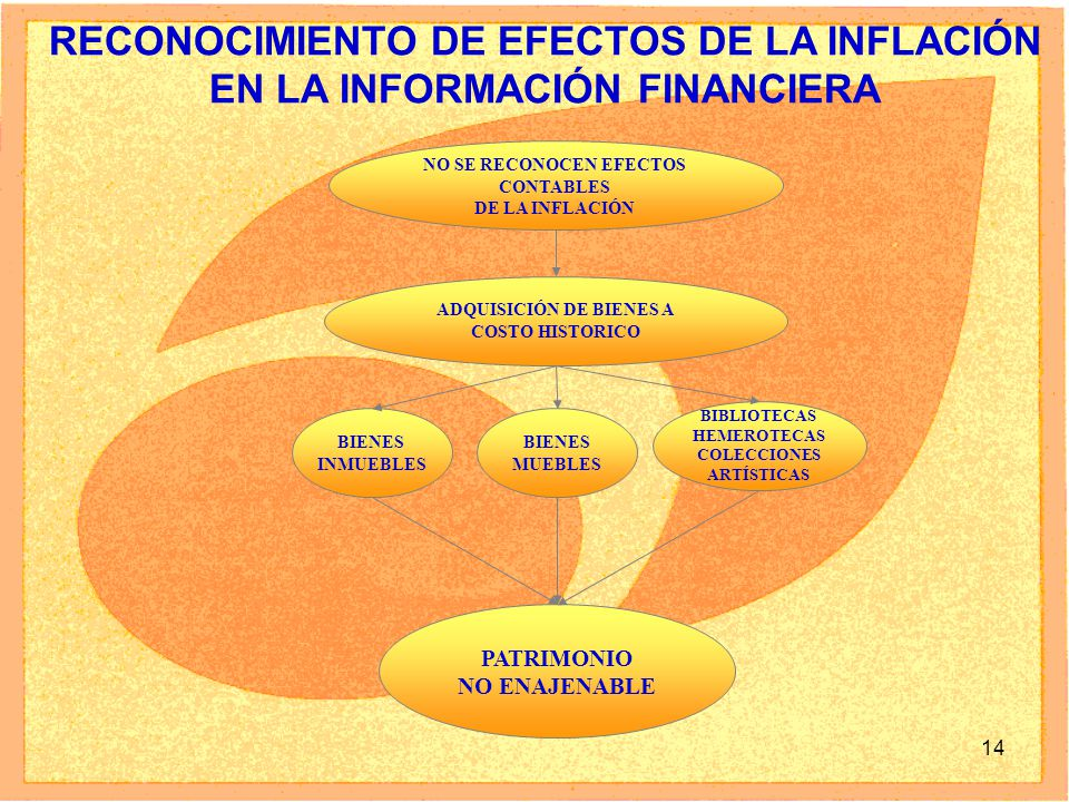 RECONOCIMIENTO DE EFECTOS DE LA INFLACIÓN EN LA INFORMACIÓN FINANCIERA