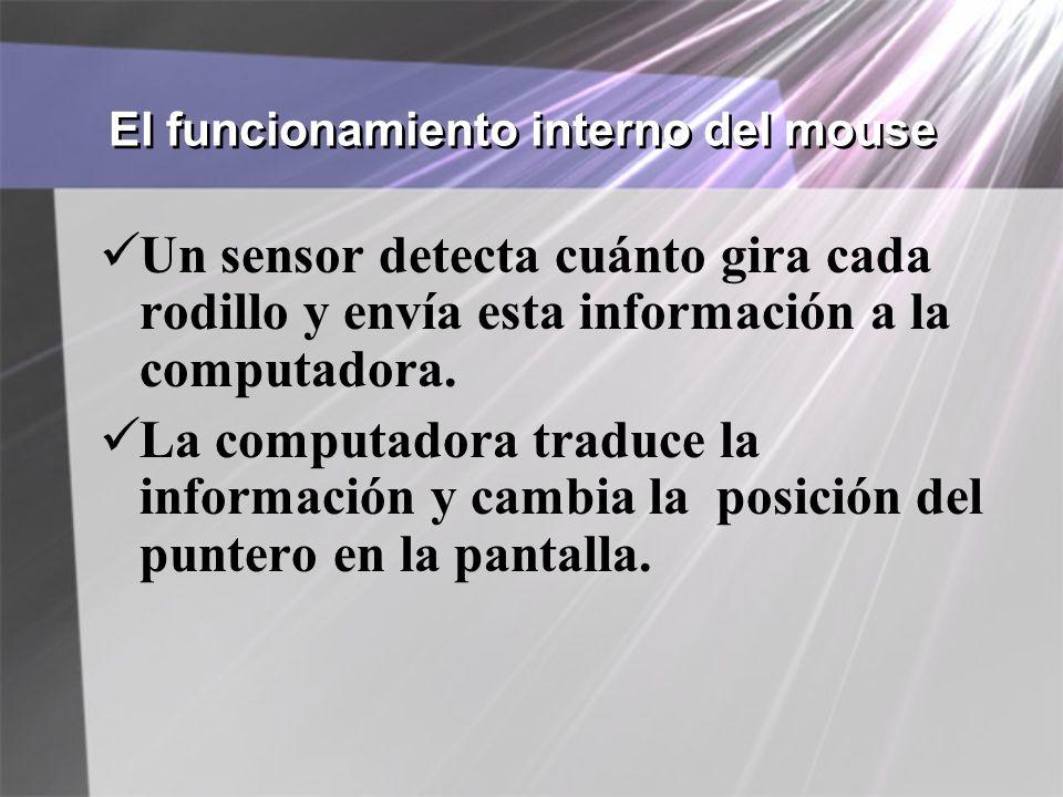El funcionamiento interno del mouse