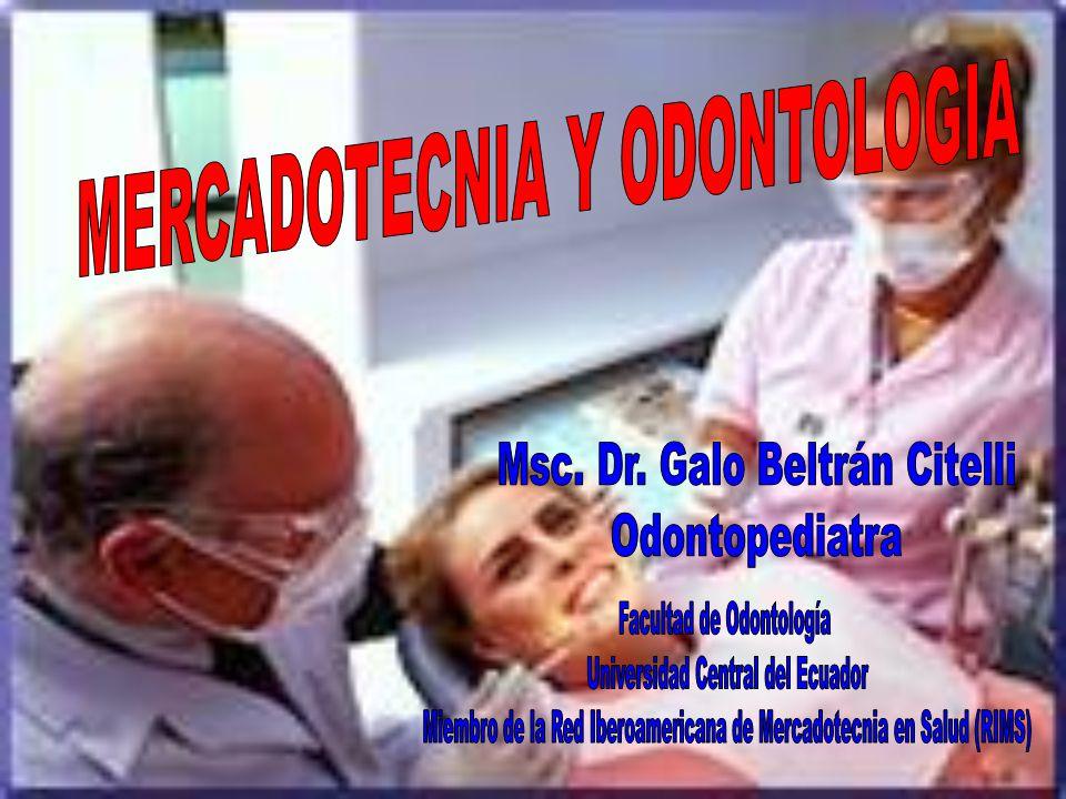 MERCADOTECNIA Y ODONTOLOGIA