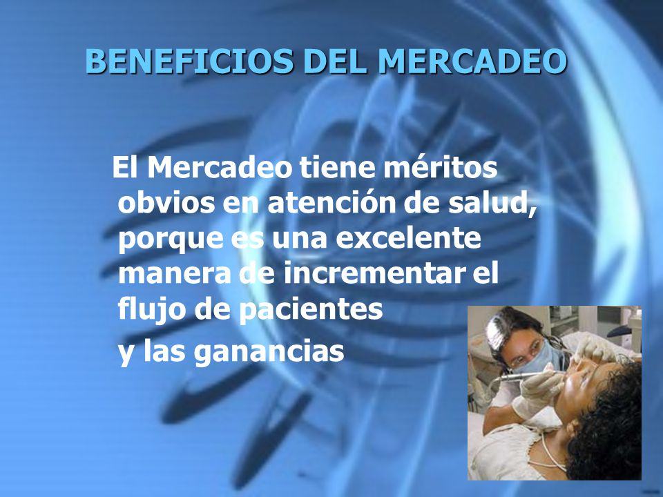 BENEFICIOS DEL MERCADEO