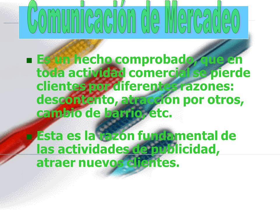 Comunicación de Mercadeo