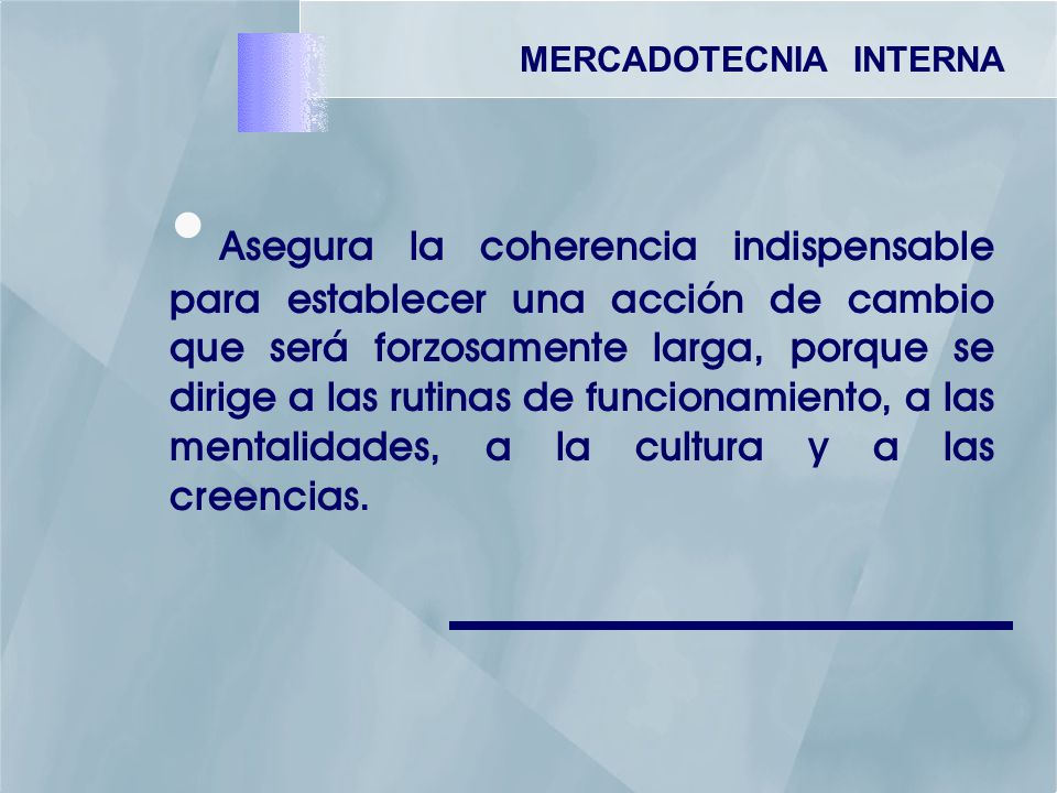 MERCADOTECNIA INTERNA