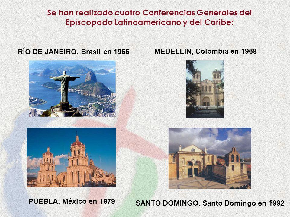 RÍO DE JANEIRO, Brasil en 1955 SANTO DOMINGO, Santo Domingo en 1992