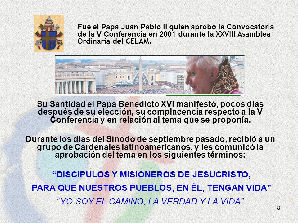 DISCIPULOS Y MISIONEROS DE JESUCRISTO,