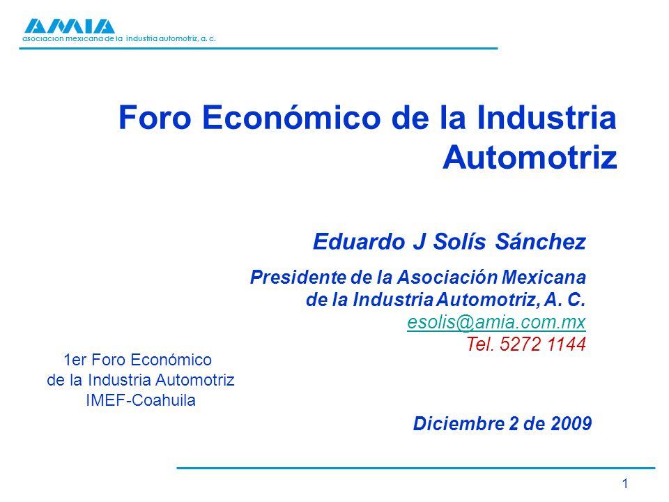Foro Económico de la Industria Automotriz