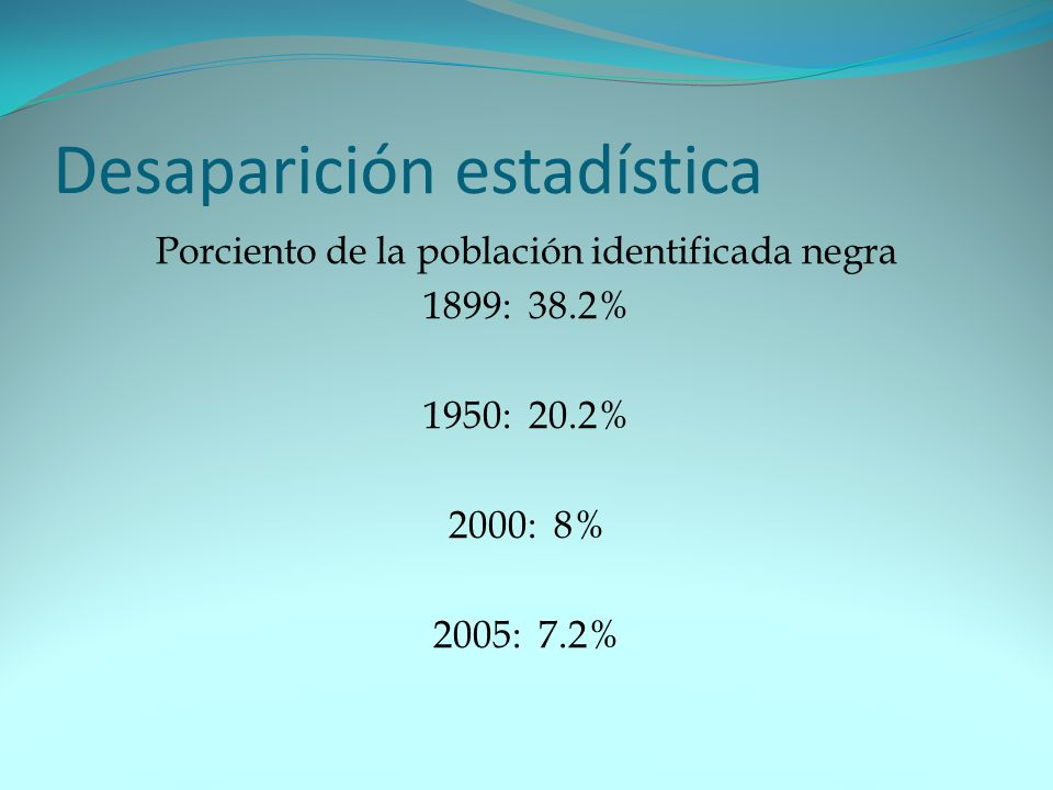 Desaparición estadística