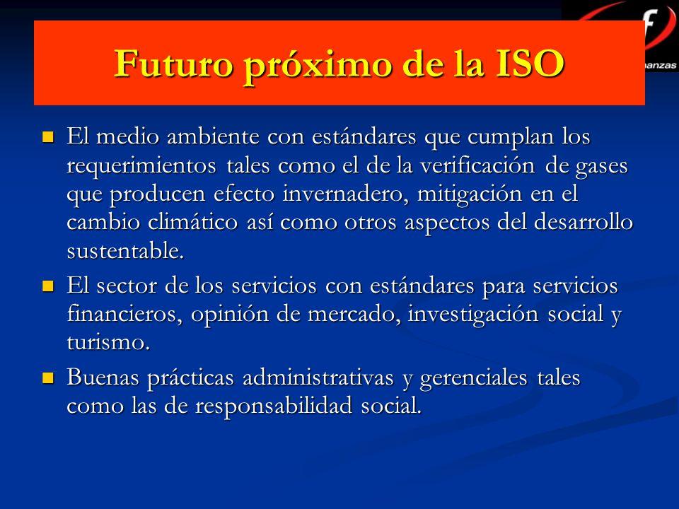 Futuro próximo de la ISO