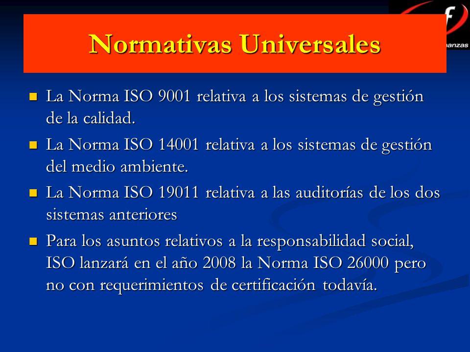 Normativas Universales