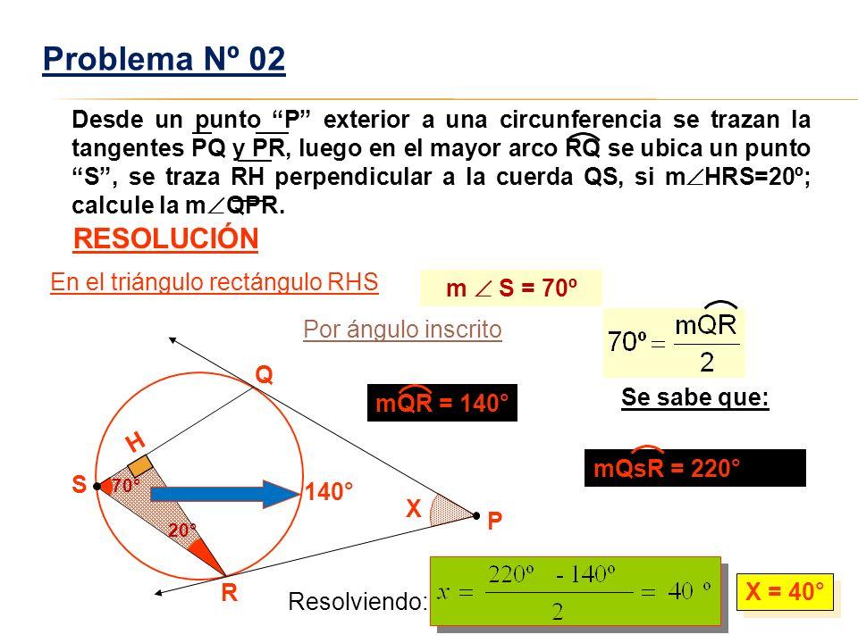 Problema Nº 02 RESOLUCIÓN