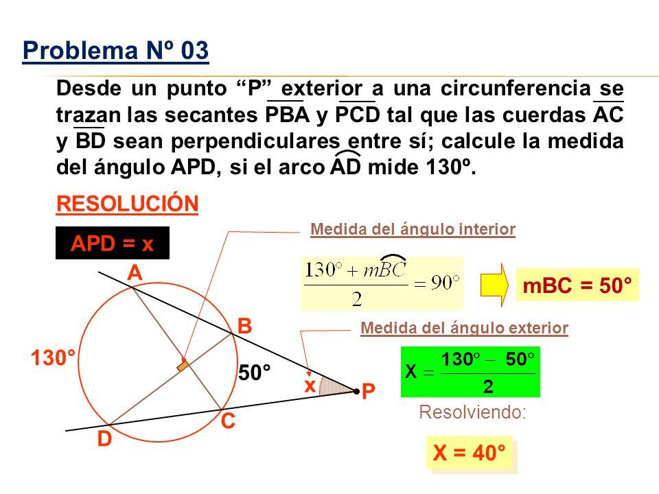 La circunferencia sus elementos y ngulos ppt video for Exterior a la circunferencia