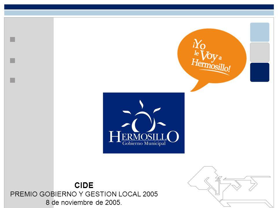 PREMIO GOBIERNO Y GESTION LOCAL 2005