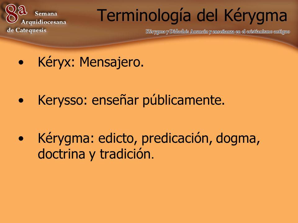 Terminología del Kérygma