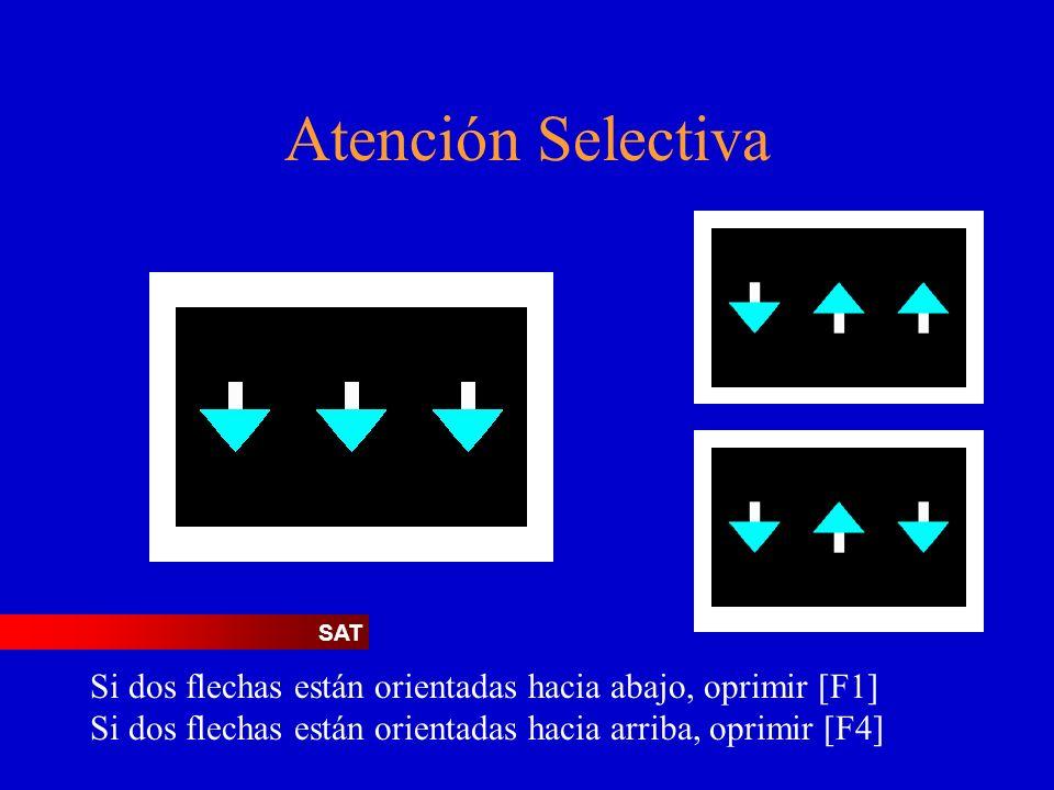 Atención Selectiva SAT.