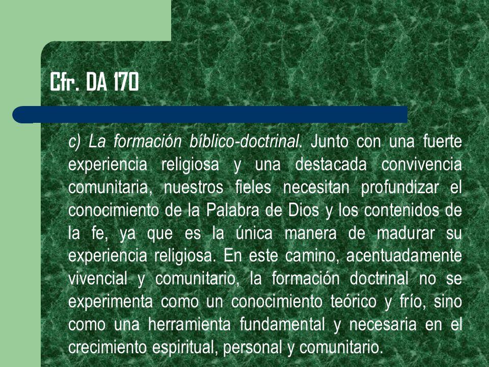 Cfr. DA 170