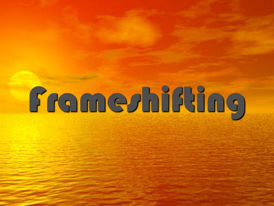 Frameshifting