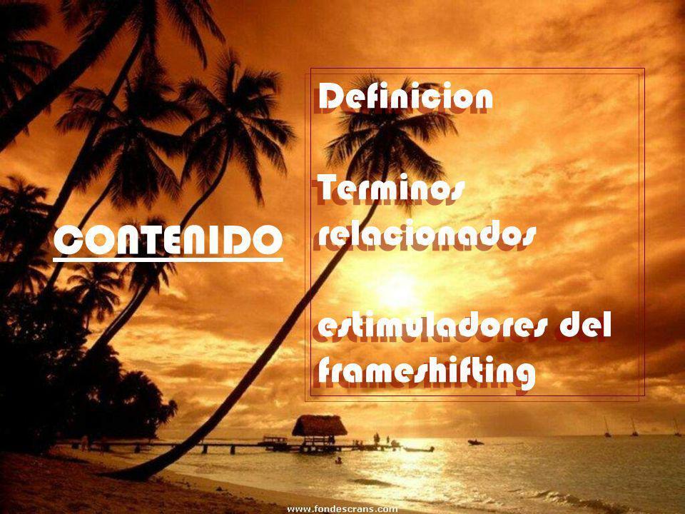 CONTENIDO Definicion Terminos relacionados
