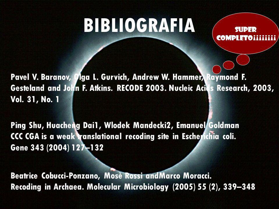BIBLIOGRAFIA SUPER. COMPLETO¡¡¡¡¡¡¡¡