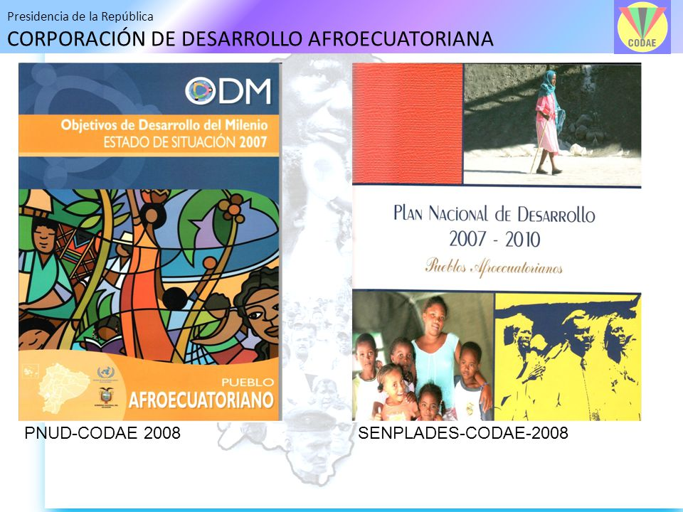 PNUD-CODAE 2008 SENPLADES-CODAE-2008