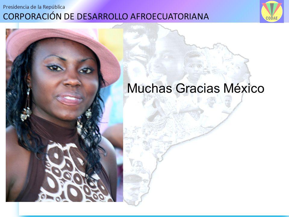 Muchas Gracias México