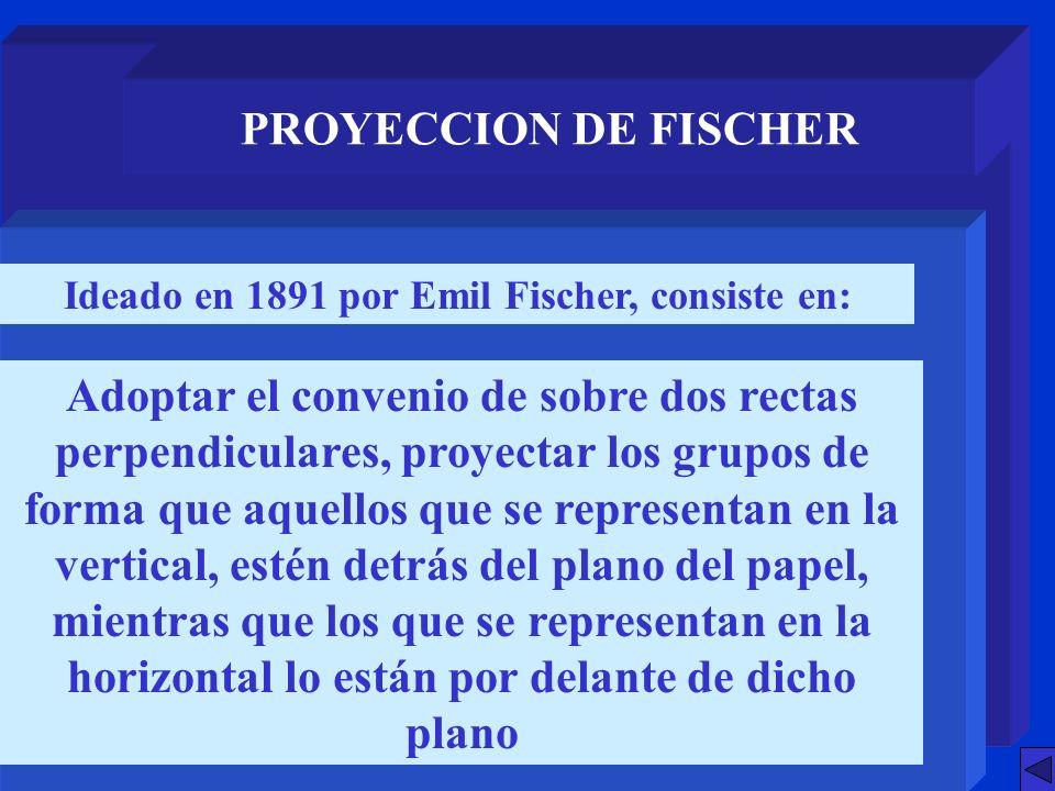 Ideado en 1891 por Emil Fischer, consiste en: