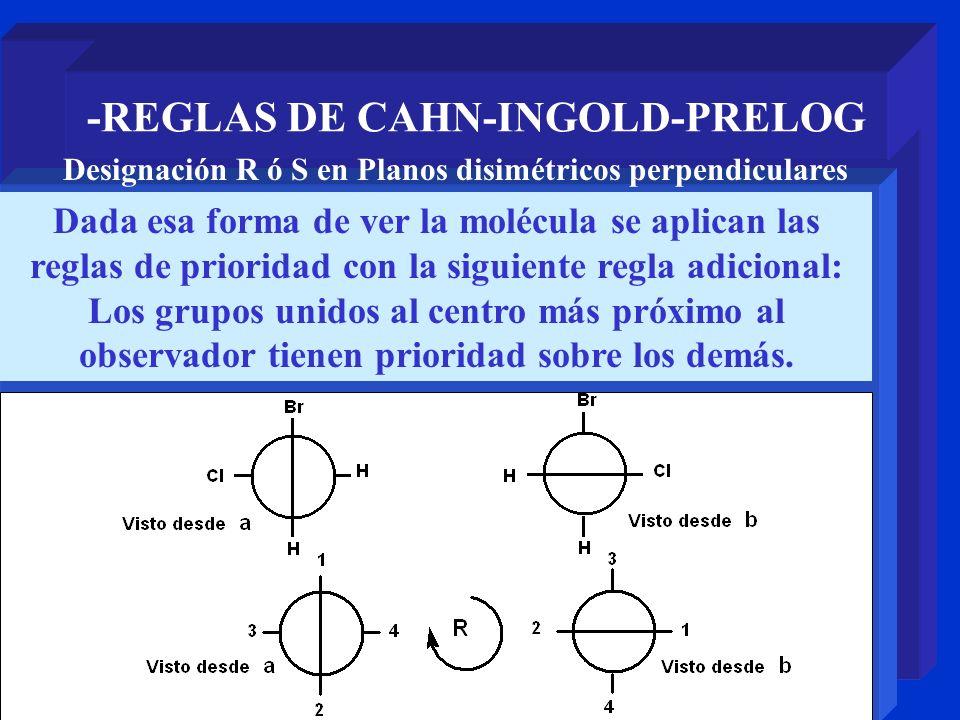 -REGLAS DE CAHN-INGOLD-PRELOG