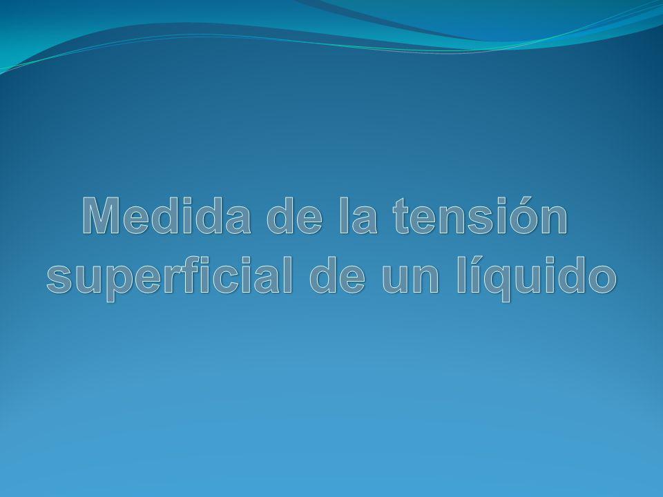 superficial de un líquido