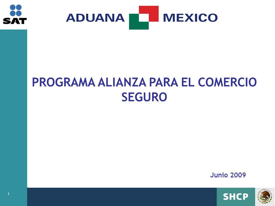 PROGRAMA ALIANZA PARA EL COMERCIO SEGURO