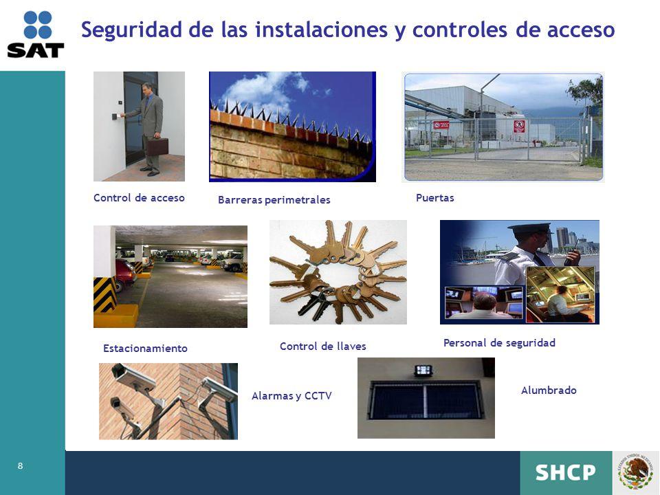 Seguridad de las instalaciones y controles de acceso