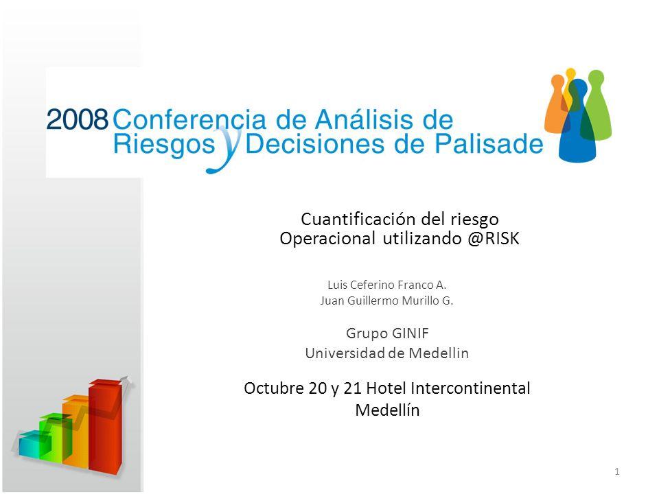 Octubre 20 y 21 Hotel Intercontinental Medellín