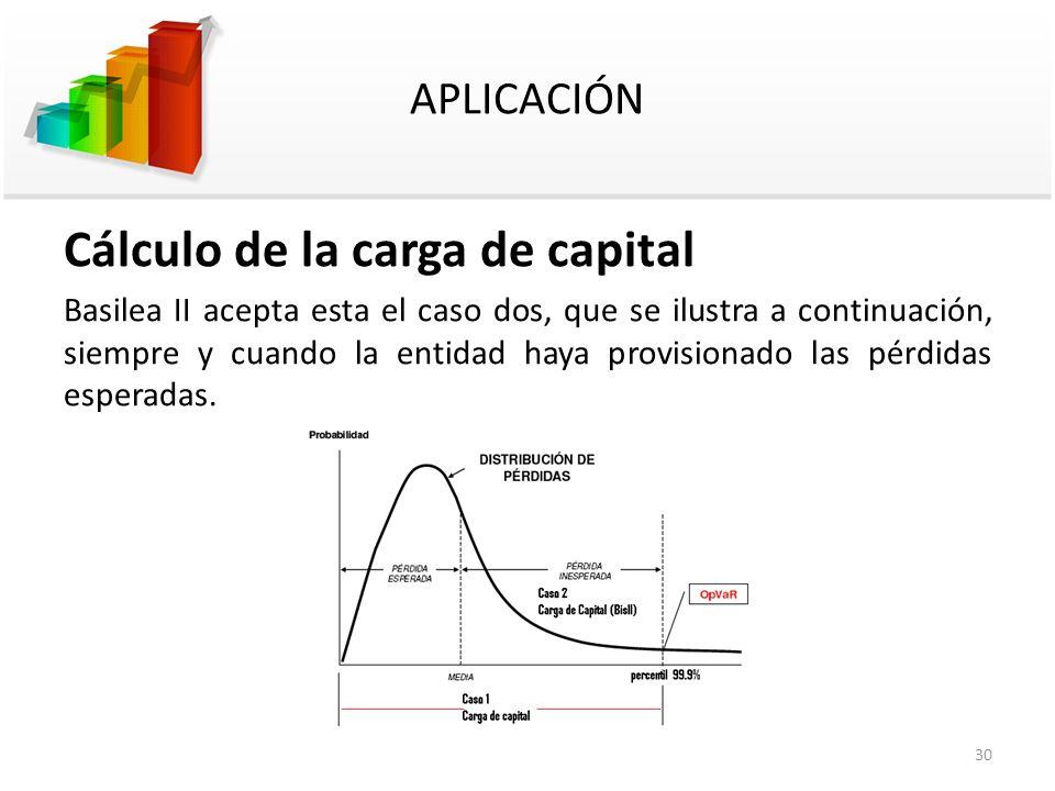 Cálculo de la carga de capital